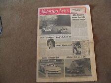 Motoring News 24 April 1975 Dutton Malaga Monza 1000kms Elba Tavern Rally