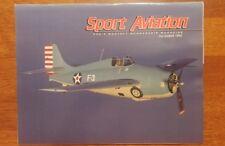 Sport Aviation Magazine December 1994 homebuilt antique Warbirds at Oshkosh '94