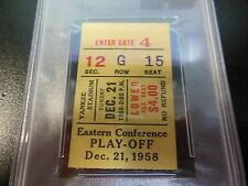 1958 NEW YORK GIANTS NFL PLAYOFF GAME TICKET STUB vs CLEVELAND BROWNS FOOTBALL