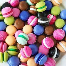5x French Macaron Macaroon Dollhouse Miniature Food Bakery Sweet Candy Tiny Mini