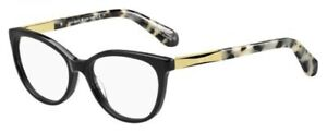 NEW Kate Spade KS Kassia Eyeglasses 0ANW Black Gold 100% AUTHENTIC