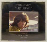 "Brian May - ""The Business"" (Rock On Cozy Mix) - Parlophone CDRDJ 6498 Promo"