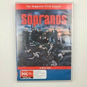 The Sopranos : Season 5 DVD (4 Disc Set) - Region 4  - TRACKED POSTAGE