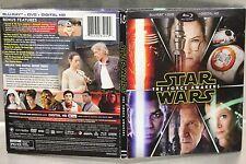 Star Wars: The Force Awakens (Blu-ray/DVD, 2016, 3-Disc Set) Target Exclusive