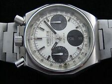 VTGE CITIZEN BULLHEAD 8110 PANDA OCTAGON CHRONOGRAPH WATCH. BEAUTIFUL. 70s