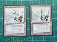 MTG Kjeldoran Outpost x2, Alliances, NM Magic the Gathering Card