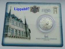 Luxemburg / Luxembourg speciale 2 euro 2014 Independence BU in Coincard