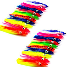 25pcs 3in Octopus Squid Skirt Lure Soft Fishing Bait Trolling baits Hoochies