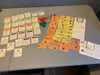 Vintage Lot of Monopoly Cards Houses Hotels Instructions Chance Community Chest