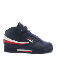 FILA KIDS F-13 FASHION SNEAKERS  NAVY/RED