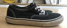 VANS AUTHENTIC TRAINERS BLACK KIDS SIZE 1.5