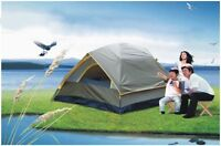 Green 3-4 Persons POP UP Family Outdoor Waterproof Beach Camping Hiking Tent #