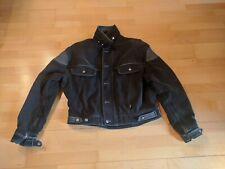 BMW Maverick Motorradjacke Jacke Cruiser Motorrad Leder schwarz Größe 26 Top