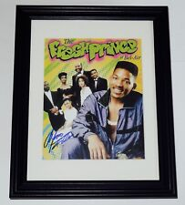 ALFONSO RIBEIRO AUTOGRAPHED 8X10 COLOR PHOTO (FRAMED & MATTED) - FRESH PRINCE!