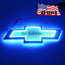 LED Car Auto Back Logo Light Badge Bulbs Emblem For CHEVROLET CRUZE EPICA Blue