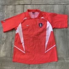 Rare Vintage Korea National Team Soccer Hot Pink Nike Jersey Men Large World Cup