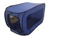"""Pooch Pen Collapsible Crate Kennel Pop Open Dogs Cats Pets 32'x19"""""""