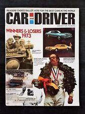Car & Driver Jan 1974 - Datsun B-210 - Chevrolet Cosworth Vega - Jackie Stewart
