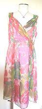 Nanette Lepore Floral Sleeveless Dress Size 12