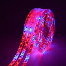 5 м 5050 Smd светодиодная лампа для рассады светящаяся лента для полного спектра для растений гидропоника в помещении