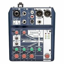 Soundcraft Notepad-5 Analogue Mixing Desk With USB Inteface (new)