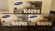 Lot of 3 SAMSUNG K409S BLACK TONER FACTORY SEALED FOR CLP-31X/CLX-317X