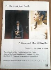 PJ HARVEY A Woman A Man Walked By UK magazine ADVERT/Poster/clipping 11x8 inches
