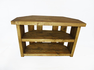 Handmade Rustic Wooden TV Stand - Many Colours and Sizes!