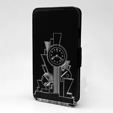 For Apple iPod Touch Flip Case Cover Art Deco - T1972