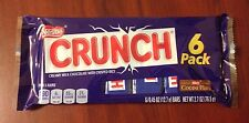Nestle CRUNCH Candy Bars. 6-pack Fun Size - FREE additional shipping!