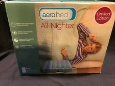 """NEW Aerobed All-Nighter Limited Edition Twin 8"""" Air Mattress"""