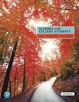 Algebra for College Students, Hardcover by Lial, Margaret L.; Hornsby, John; ...