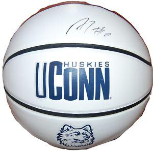 ANDRE DRUMMOND signed (U-CONN HUSKIES) basketball *DETROIT PISTONS* W/COA