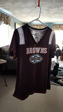 Womens Cleveland Browns Short Sleeve Team Jersey Size XL