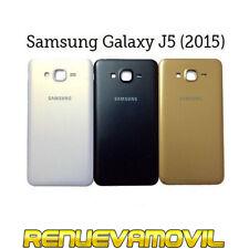Tapa Trasera Original De Bateria Para Samsung Galaxy J5 SM-J500 (2015) Negra Oro