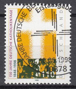 BRD 1998 Mi. Nr. 1995 gestempelt BERLIN Sonderstempel , mit Gummi (17611)