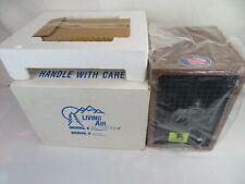 NEW Living Air XL-15 Classic Wood Air Purifier - Brown