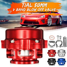 50mm Aluminum Universal Turbo Intercooler Boost Bov Blow Off Valve 35-Psi V-Band