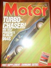 Motor 22/11/86 Porsche 944S