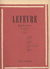 Lefèvre Metodo per Clarinetto Vol.II  Ricordi Lefevre