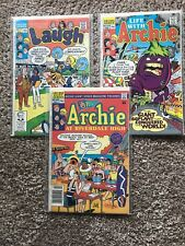 Vintage Archie Comic Book Lot As Pictured Lot No. 6