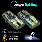 2X W5W T10 501 CAN BUS BLANCO LIBRE DE ERRORES 24 SMD BOMBILLAS LED LUZ LATERAL