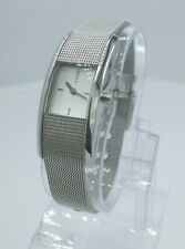 DKNY NY3630 ladies full steel time only watch mesh bracelet NY-3630 3 ATM