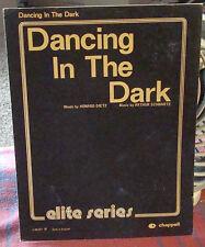 Dancing in the Dark Sheet Music Dietz & Schwartz (London: Chappell)