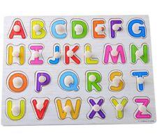 Gioco Giocattolo Educativo Bambini Bimbi Puzzle 3d Lettere Legno Colorati dfh