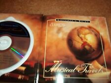 In Classical mood Musical Travels CD & Book VGC Mozart Ravel Milhaud Rossini
