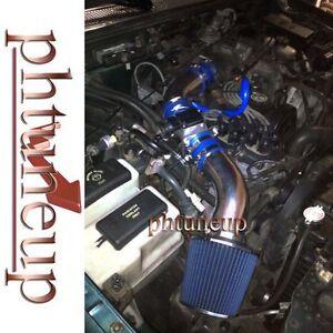 1995-1997 Ford Ranger XL XLT Mazda B2300 SE 2.3 2.3L SOHC AIR INTAKE KIT BLUE