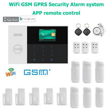 Security Alarm Home RFID Card Burglar Alarm System Senor Android IOS APP Remote