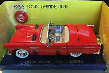 Motormax 1956 Ford Thunderbird Convertible Red 1/24 Diecast Car