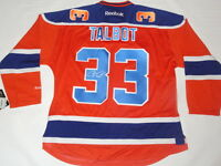 CAM TALBOT SIGNED EDMONTON OILERS #33 ALTERNATE JERSEY LICENSED JSA COA